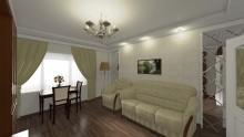 Дизайн зала в квартире  - СТК Миг Ремонт квартир в Екатеринбурге