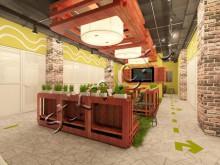 Дизайн - проект общественного интерьера - СТК Миг Ремонт квартир в Екатеринбурге