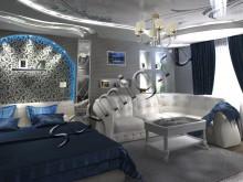 Дизайн комнаты 23 м2, цена, фото - СТК Миг Ремонт квартир в Екатеринбурге