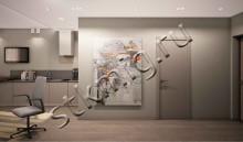 Дизайн проект однокомнатной квартиры  - СТК Миг Ремонт квартир в Екатеринбурге