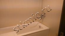 Ремонт ванной в бежевых тонах  - СТК Миг Ремонт квартир в Екатеринбурге