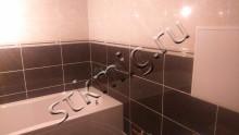 Ремонт маленькой ванной совмещенной - СТК Миг Ремонт квартир в Екатеринбурге