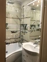 Ремонт ванной и туалета 137 серия  - СТК Миг Ремонт квартир в Екатеринбурге