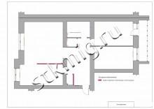 Дизайн квартиры 115 м2 - СТК Миг Ремонт квартир в Екатеринбурге