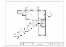 Дизайн проект квартир 74 м2 - СТК Миг Ремонт квартир в Екатеринбурге