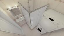Создание дизайна ванной комнаты 2,7 кв.м.  - СТК Миг Ремонт квартир в Екатеринбурге