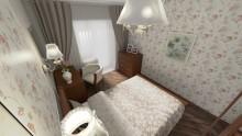 Дизайн проект спальни 10,5 кв.м.  - СТК Миг Ремонт квартир в Екатеринбурге