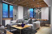 Дизайн проект квартиры 92 кв.м. - СТК Миг Ремонт квартир в Екатеринбурге