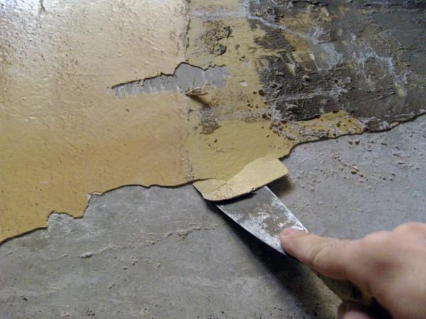 очистка от краски