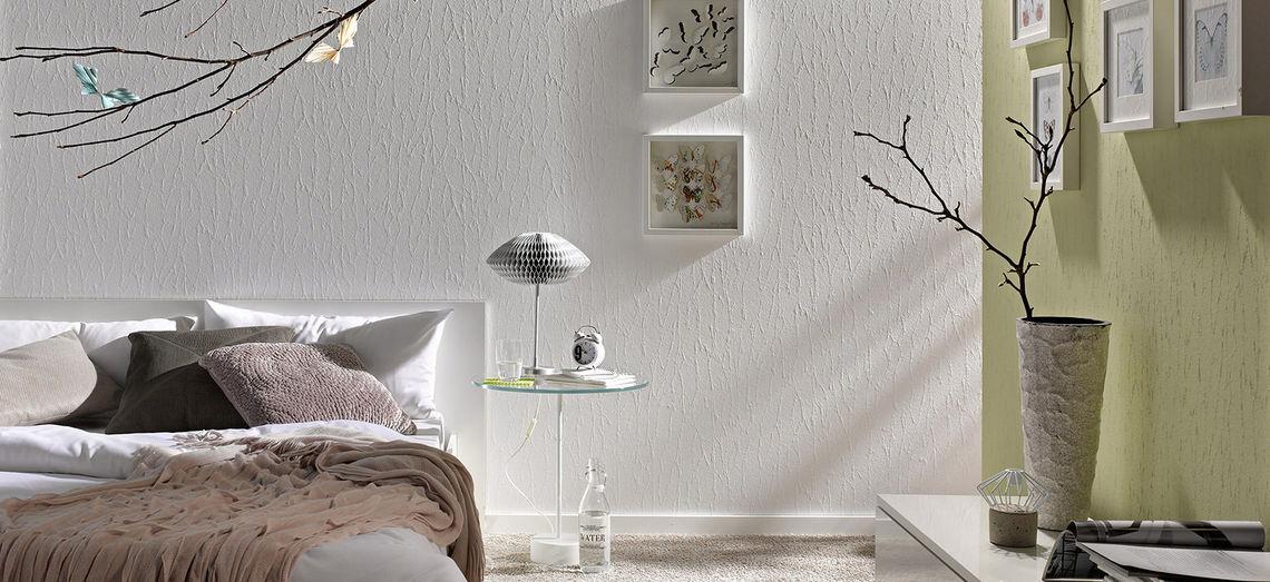 Виды обоев под покраску для стен