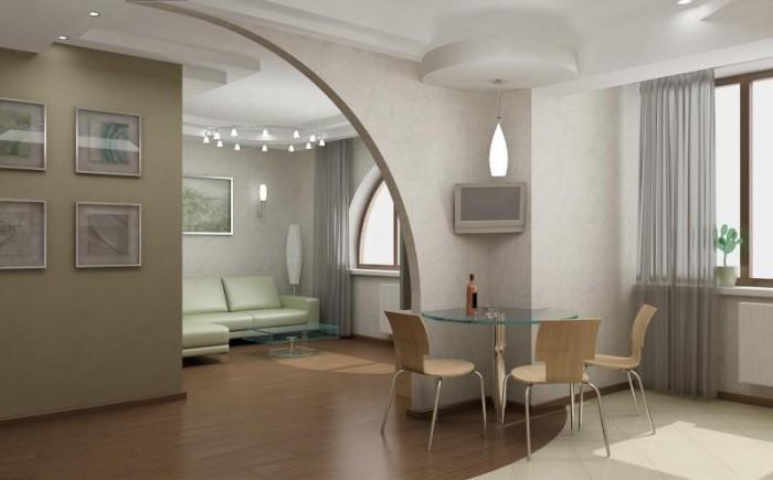 Дизайн-проект двухкомнатной квартиры в новостройках