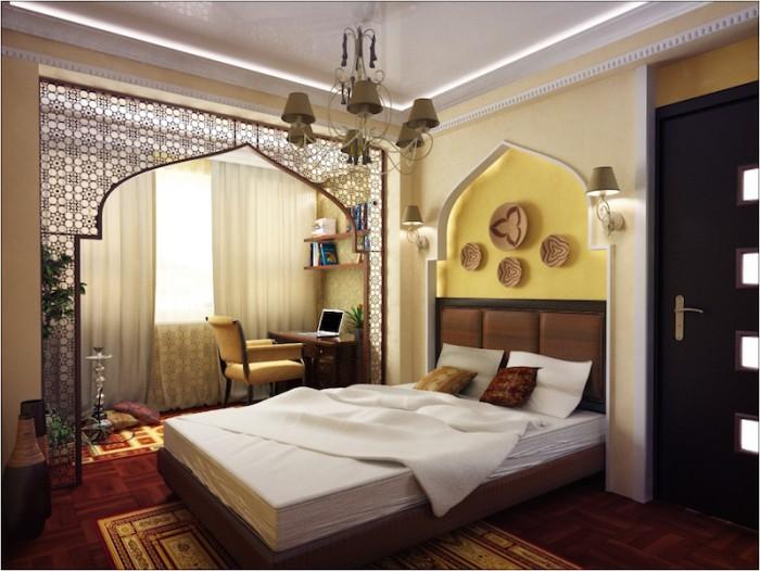 Дизайн интерьера квартиры в восточном стиле