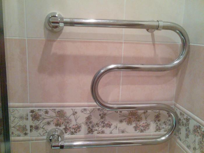 Замена в квартире полотенцесушителя, змеевика недорого