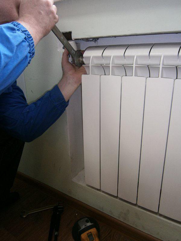 Услуги по установке радиаторов