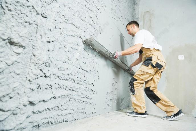 Штукатурка стен цементным раствором расценки бетон темный рыцарь