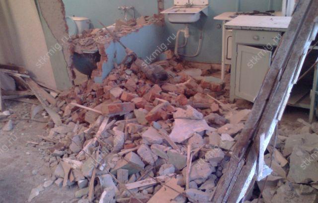 Демонтаж снос стен и перегородок Цены Вегас  Красноярск